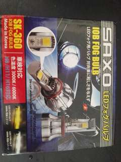 Saxo h11 led lamp 3000k yellow (made in korea)