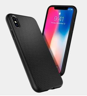 Spigen Liquid Air Slim & Soft iPhone X Case Cover (Original)