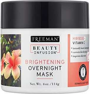 Freeman Beauty Infusion Brightening Overnight Mask Hisbiscus + Vitamin C