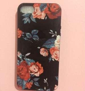 Iphone 5/5s/SE floral case