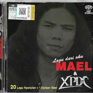 MAEL & XPDC Lagu Dari Aku 2CD