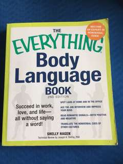 THE EVERYDAY BODY LANGUAGE BOOK
