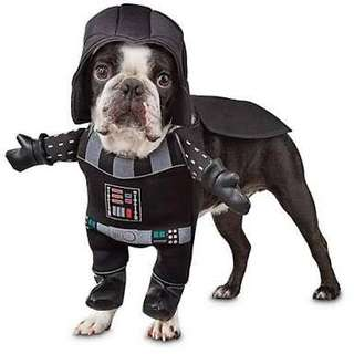 Starwars Darth Vader Illusion Dog Costume