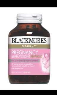 Blackmores Pregnancy & Breast-Feeding Advanced, 120s