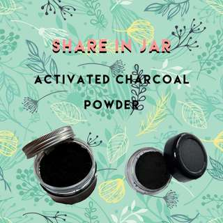 (Share in Jar 5gr) Activated Charcoal Powder