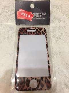 H&M I Phone 4 Smartphone sticker