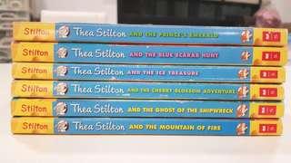 Geronimo Stilton & Thea Stilton