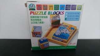 益智六面方塊拼圖
