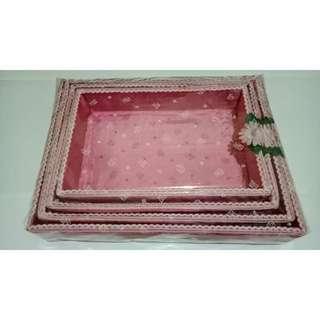 Kotak Hantaran Seserahan Pink