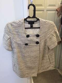 MANGO Short Sleeve Jacket