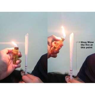 Earwax Candle