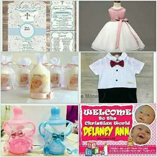 Christening package