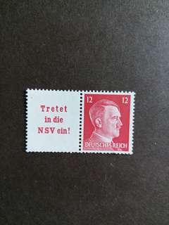 納粹德國郵票德國發起红十字会全新彫'刻版