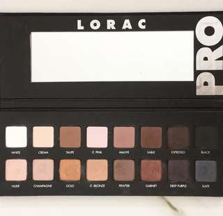 LORAC PRO 1 (Eyeshadow Palette)