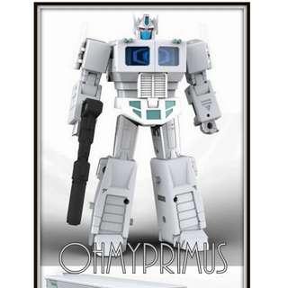 DX9 War In Pocket X34W Ranton - Transformers Legends Scale Ultra Magnus With Trailer