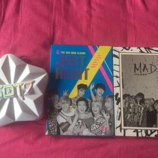 Got7 Kpop albums
