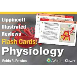 Physiology-Lippincott Illustrated Reviews Flash Cards