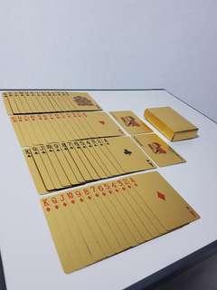 Poker Card - Gold