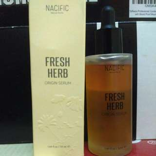 NACIFIC Natural Pacific Fresh Herb Origin Serum