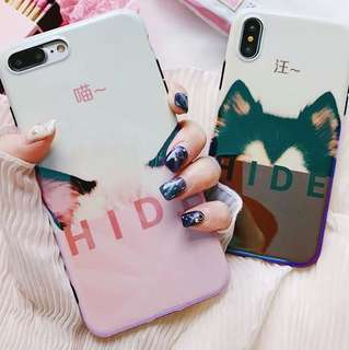 [PO] blue-ray cat and dog phone Casing
