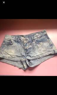Denim Shorts (Size Small)