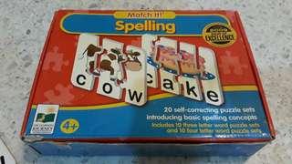 Fun spelling puzzles