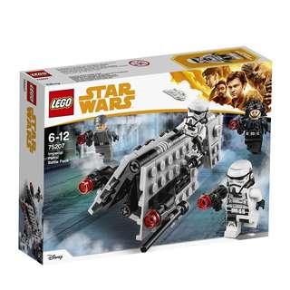 75207 Lego Starwars IMPERIAL PATROL BATTLE PACK