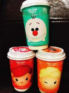 YouUS TsumTsum Tea cafe Olaf, Elsa, Ariel