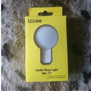 (Free postage) Mobile/Tablet Selfie Ring light