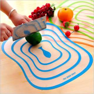 Cutting Board Kitchen PVC | Talenan Transparant