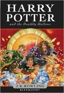 Harry Potter and The Deathly Hallows First 1st Edition   ( Hardcover )