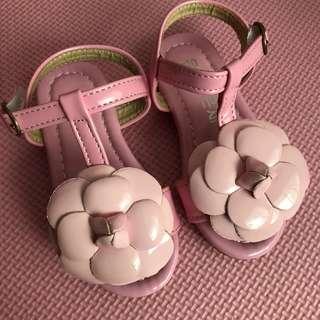 Rose Pink Baby Sandal