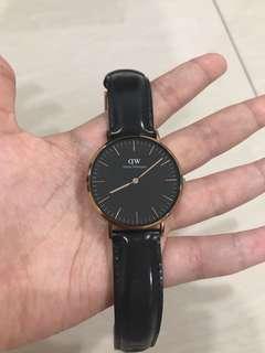 DW leather watch #swap