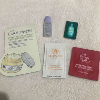 K-Beauty Assorted Samples