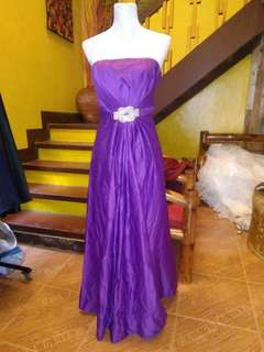 For sale purple gown