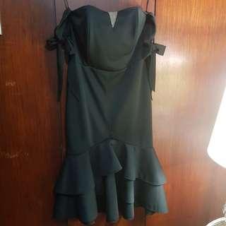 Pre-♡d Karimadon Black Cocktail Dress