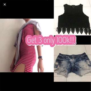 Get 3 only 100k !!!