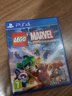 Kaset 4 ps lego marvel second