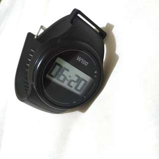 GeoNaute Waterproof 5 ATM Digital Watch with Stopwatch/Timer