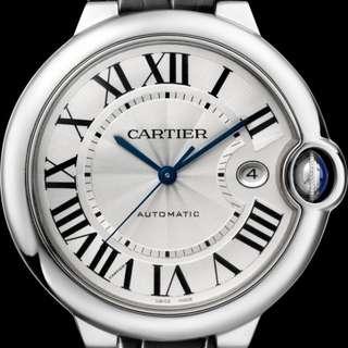 Balloon bleu the Cartier watch