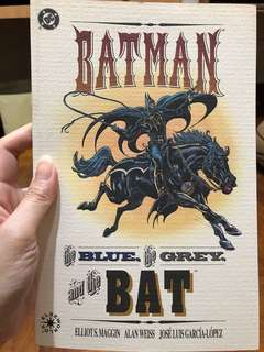 Batman the blue, the grey and the BAT 1992