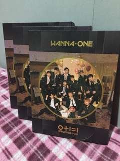 (UNSEALED AND ONHAND) WANNA ONE 2ND MINI ALBUM - I PROMISE YOU NIGHT VERSION