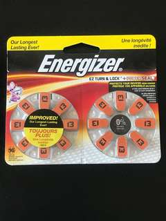 Size 13 Hearing Aid Batteries - Energizer