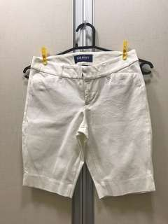 Old navy white pedal