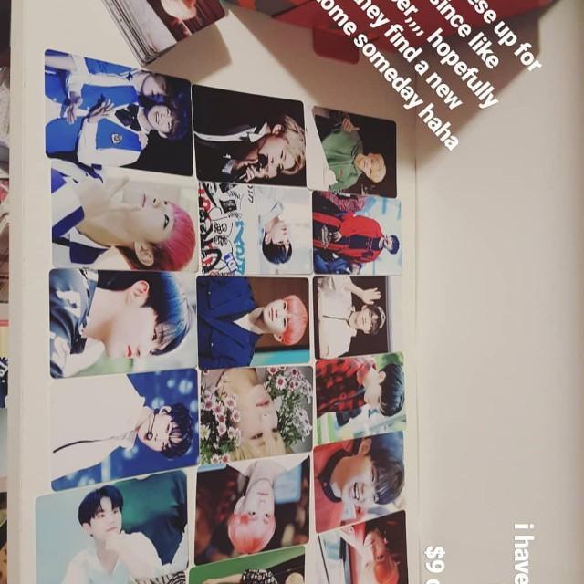 72 Seventeen Hoshi photpcards kpop