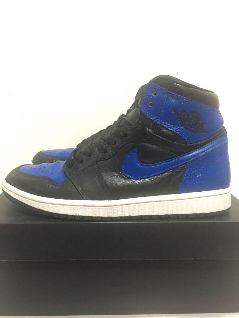 69503cc6003 Air Jordan Retro 1 - Laser Royal, Men's Fashion, Footwear, Sneakers ...