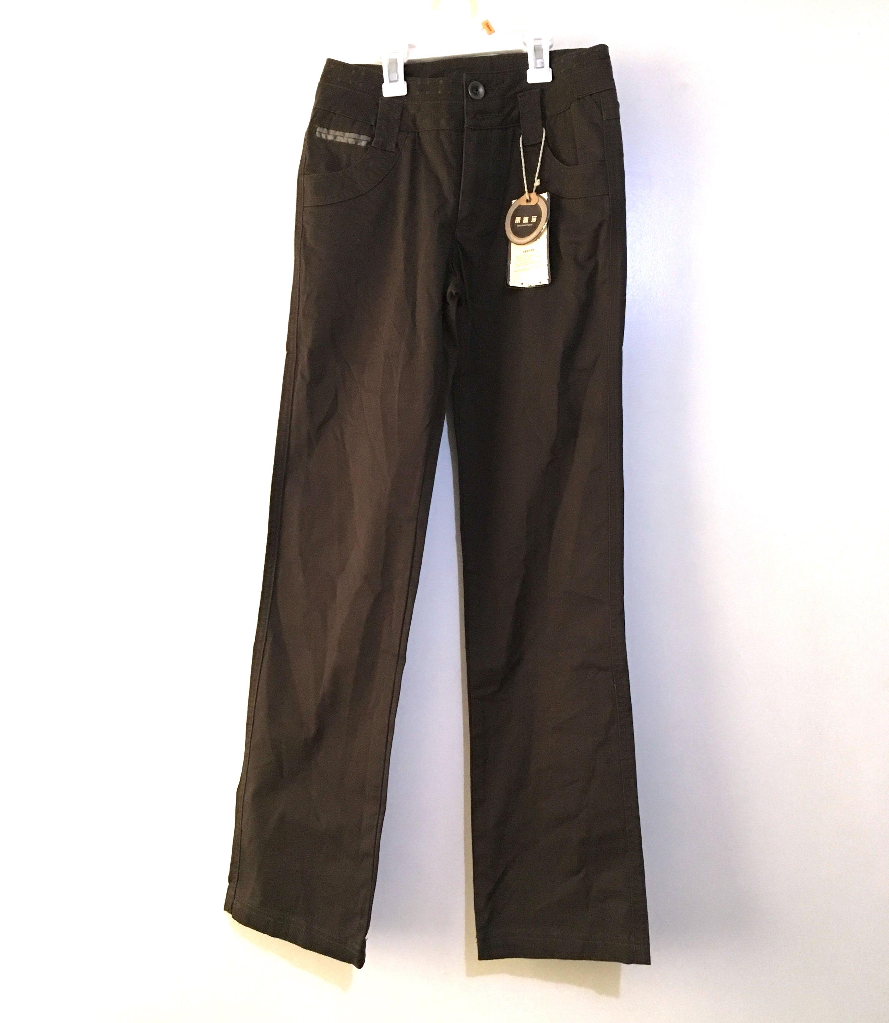 Charity Sale! Authentic Lidisha Brown Dress Khaki Women's Pants Size Small
