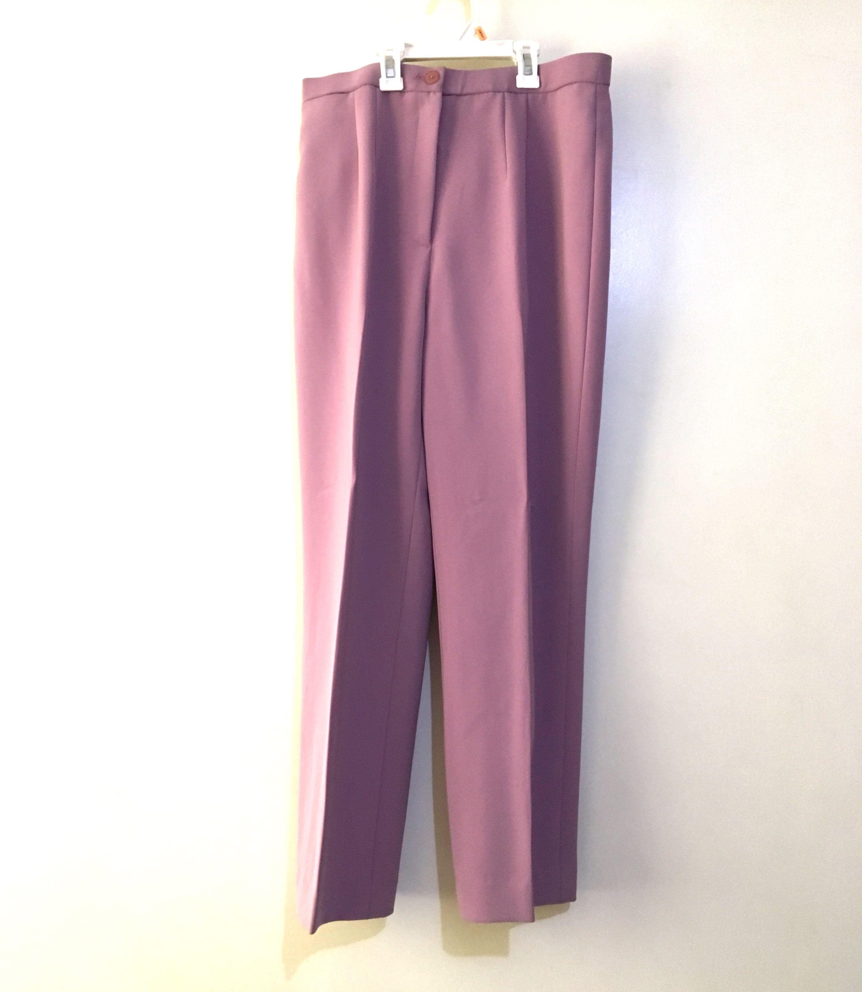 Charity Sale! Pastel Lavendar Women's Dress Work Office Pants Size Large
