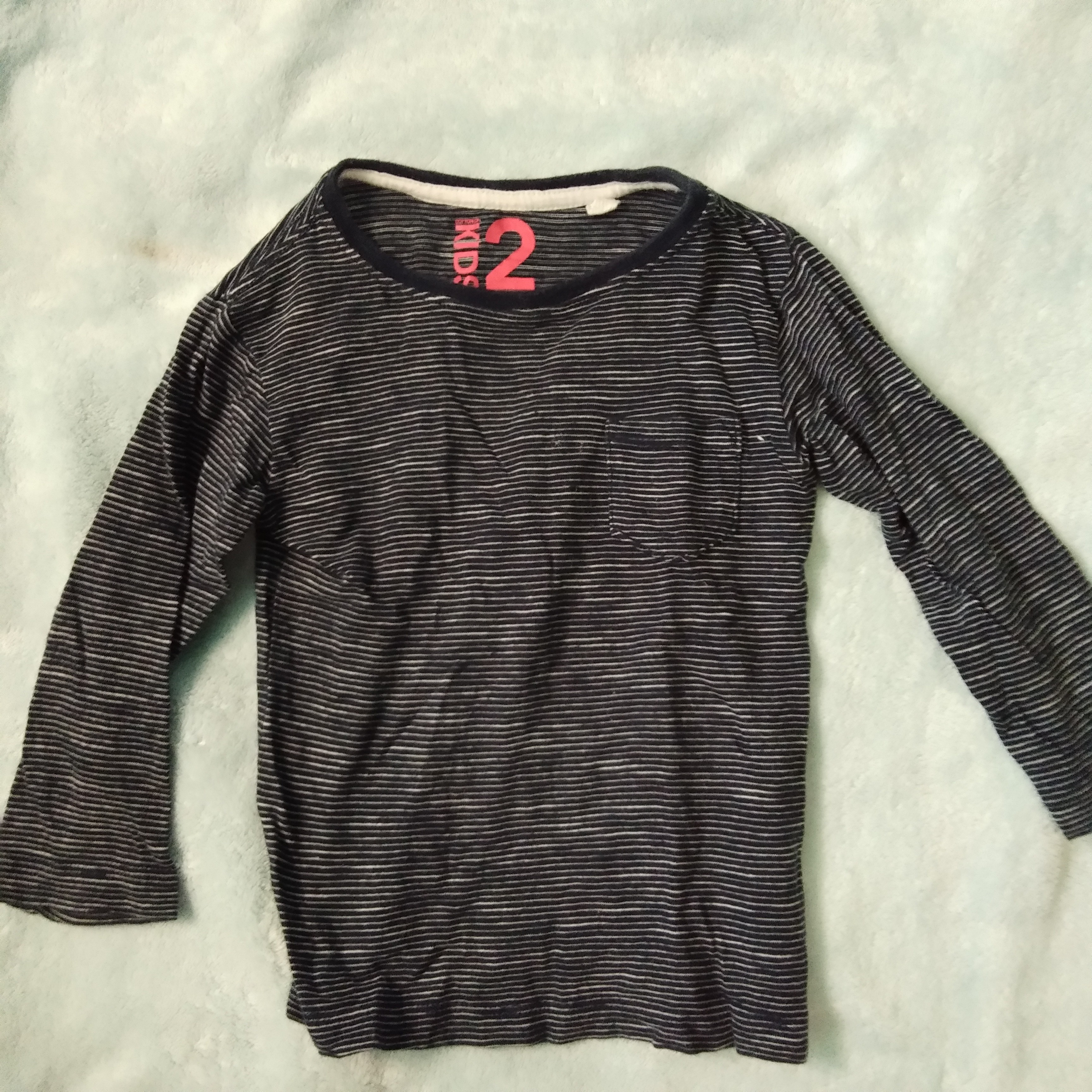 2818e2660 Cotton on stripes long sleeves, Babies & Kids, Boys' Apparel, 1 to 3 ...