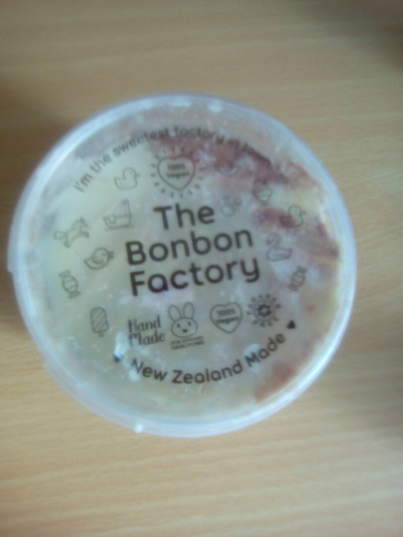 Creme Brulee flavoured body whip and scrub